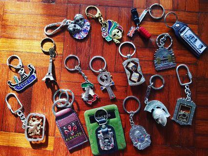 Keychains From Europe (For All)
