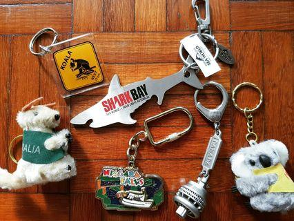 Keychains From Ausie & Canada (For All)