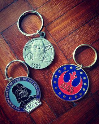 Star Wars Keychains (For All)