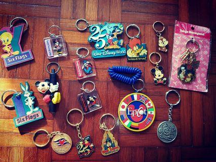 Keychains From Disneyland (For All)