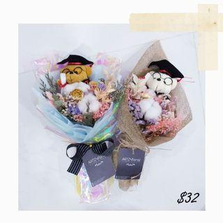 #196 | Dried Flower Graduation Bouquet | Convocation 2019 | Graduation 2019 | Message Card Included | Flower Delivery