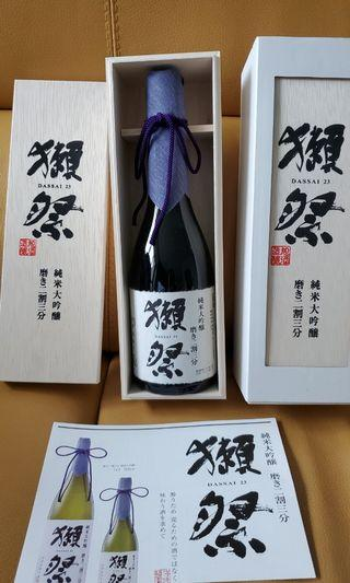 日本清酒 獺祭磨き二割三分 Daisai 23 (720ml)