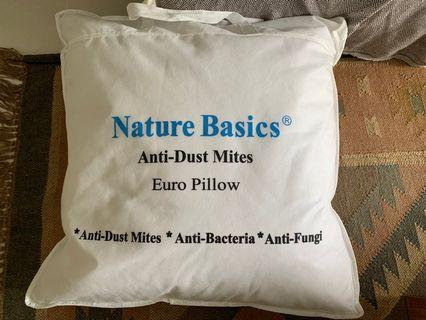 🚚 BN Pillow Feather Nature Basics Anti-Dust Mites
