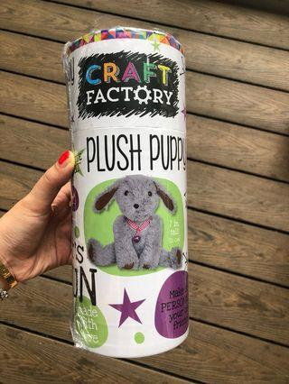 🚚 Craft factory - plush puppy diy doll