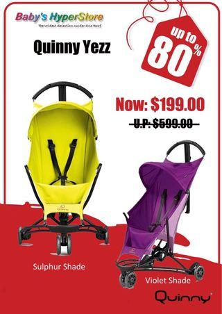 Up to 75% OFF the MOST PREMIUM Baby Brands!!Quinny🌟Maxi-Cosi🌟.. & MORE!!! . 👉Be