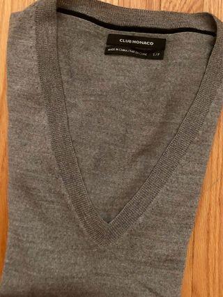 Club Monaco grey long sleeve