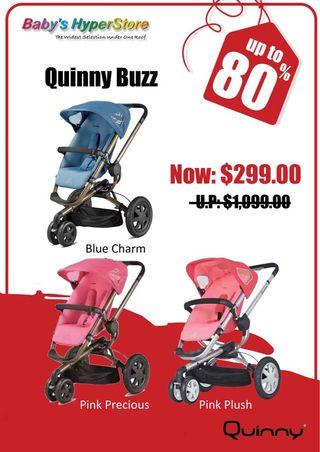 Up to 75% OFF the MOST PREMIUM Baby Brands!!Quinny🌟Maxi-Cosi🌟.. & MORE!!! .