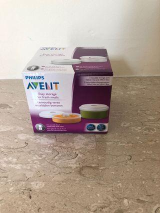 🚚 Philips Avent food storage pots