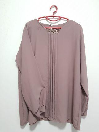 Muslimah Top (Fits L to XXL)