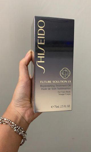 shiseido replenishing treatment oil