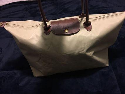 Excellent condition authentic Longchamp LG travel tote