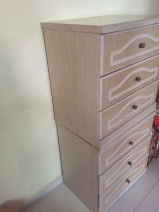 2 sets Chest Of Drawers