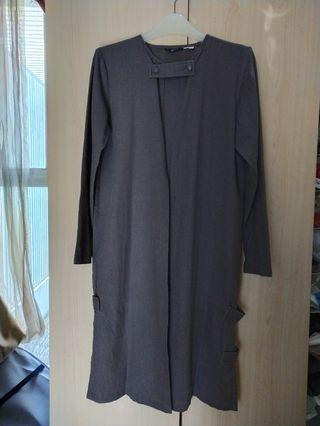 Jenahara linen grey outer