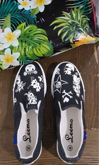 Adult Hand printed Tokidoki shoes