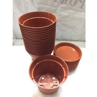 12cm Plastic Flower Pot