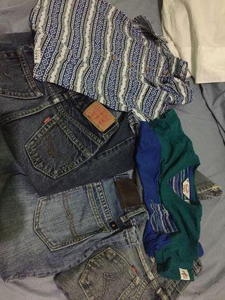 Branded Clothes for 2-3year old!! Levis x Pengiun x Cartes