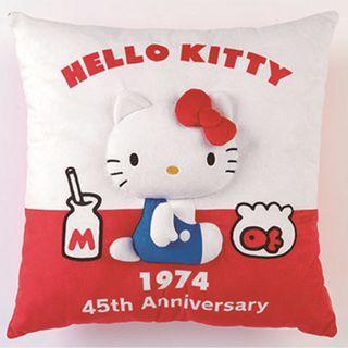 Sanrio Hello Kitty 45th Anniversary Atari Kuji First Prize 1974 Cushion