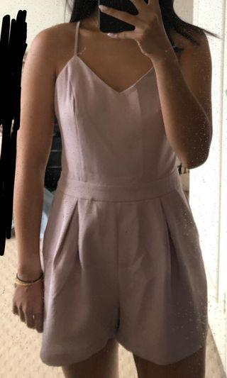 Soft Pink Playsuit