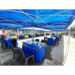 [Rent] Tables and Chairs Rent Rental Cheap Deliver Setup Event Function Wedding Birthday Party Flee Market Roadshow Kenduri Buffet BBQ Barbecue Barbeque Rental Open House Celebration 10