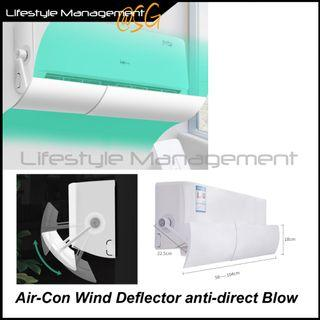 Aircon Air Con Air-Con Wind Deflector Anti Direct Blow