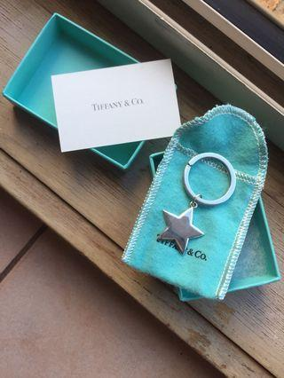 Tiffany and Co. Star Keyring