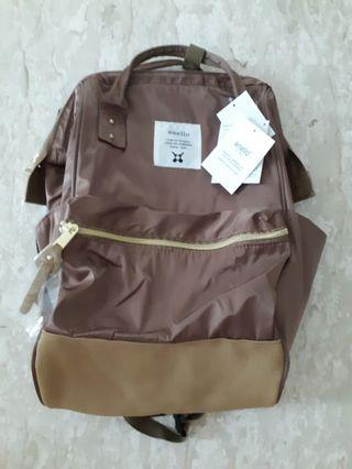 Anello Backpack - Champagne (Nylon Series)