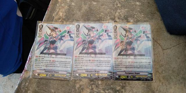 Cardfight Vanguard pentagonal magus