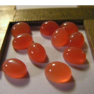 Natural Orange Candy Moonstones. High Grade. Direct from Source. 100% Natural. Quality Finish.Cabochons