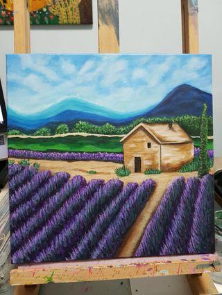 Original Art: Lavender Field