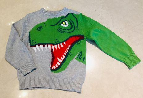 H & M Dinosaur sweater