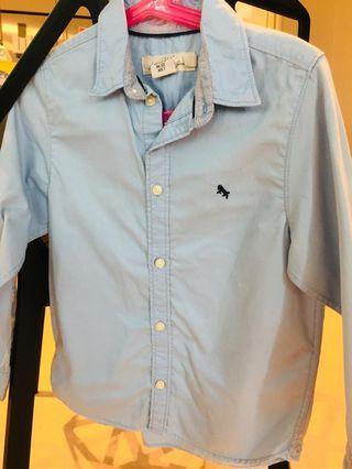 H & M shirt (light blue & white colors)