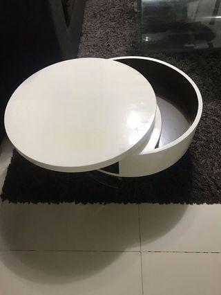 🚚 Round Coffee Table(low)