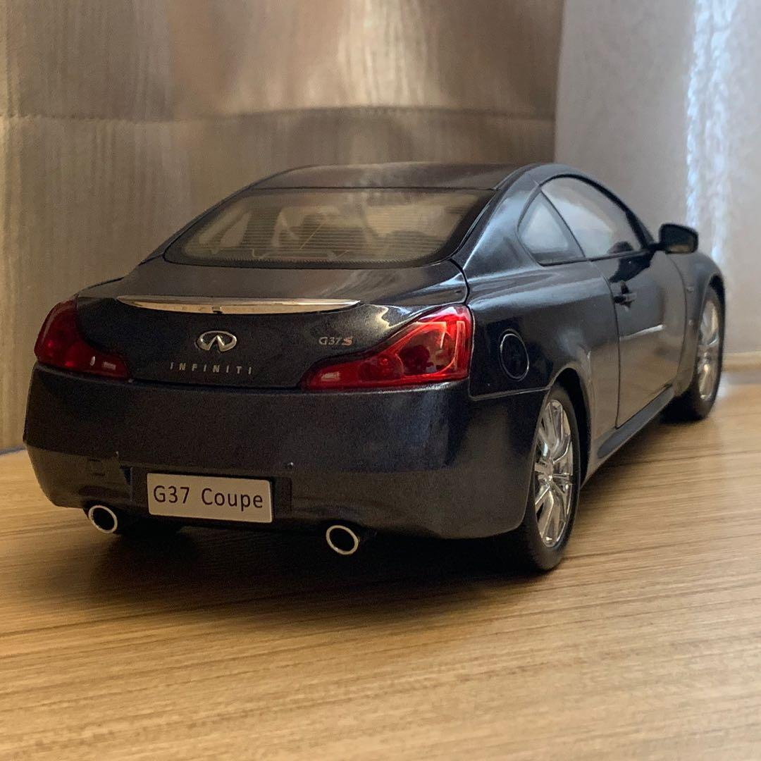 1 18 Paudi Infiniti G37 Coupe Grey Toys Games Others On Carousell
