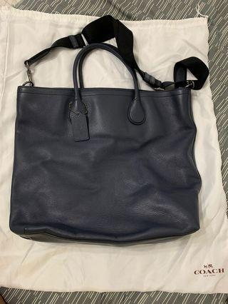 All leather Coach Bag