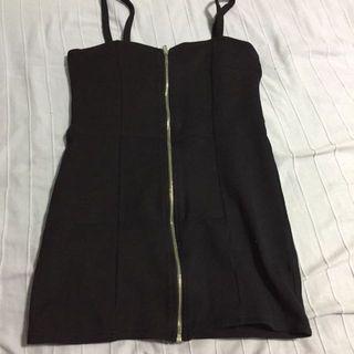 H&M Mini Zip Up Dress