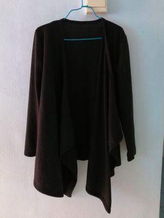 Black Cardigan (Basic Black Flowy Cardigan)