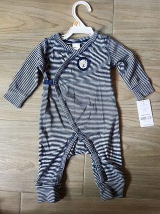 Carter's全棉 嬰兒夾乸衣睡衣連身衫bb衫cotton Baby Bodysuit