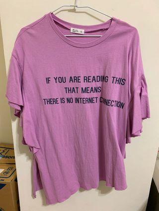 🚚 粉紫色上衣