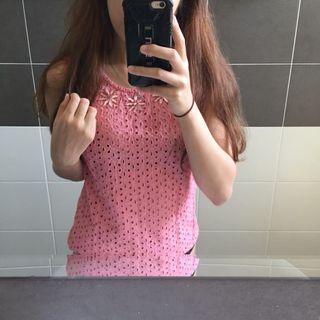 Dorothy Perkins Pink Sleeveless Top