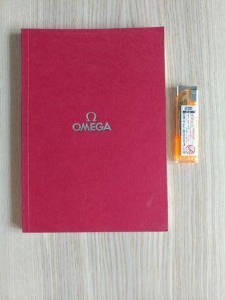歐米茄 Omega Catalogue printed in Switzerland