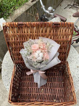 Everlasting flower bouquet graduation