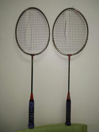 Yonex vintage Badminton Racket lama carbon japan
