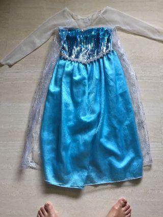 Princess Elsa girls dress up costume