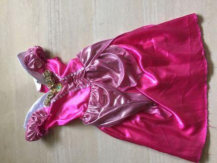 Sleeping beauty costume for girls