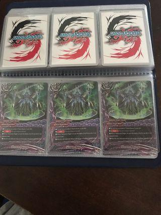 Buddyfight Cards venom swamp plus venom pain