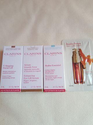 4 pc Clarins Set
