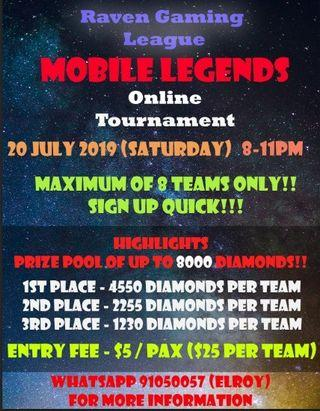 Mobile legend competition