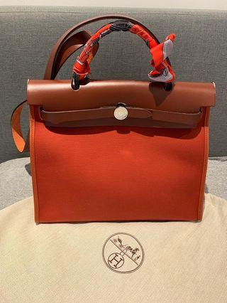 Hermes Herbag with Twilly