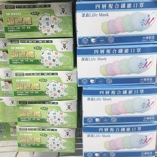 台灣製造複合纖維口罩
