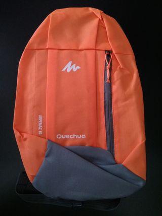 (NEW) Quechua Arpenaz 10 Backpack (Orange & Gray)